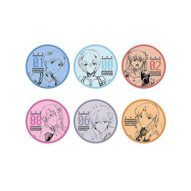 Cafe Coaster Evangelion (jw-webmagazine.com)