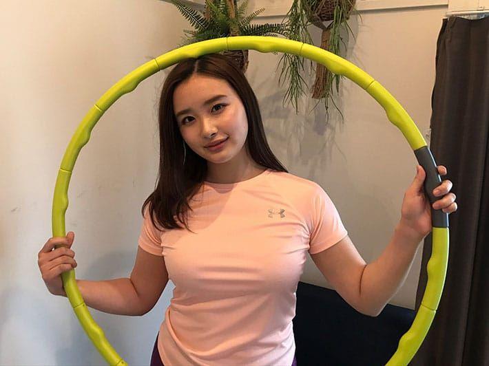 Oto Abe Hula Hoop Challenge (grapee.jp)