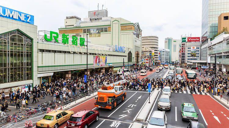 tokyo rush hour japanesestation.com