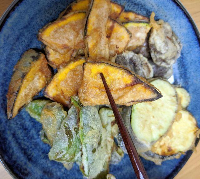 Aneka tempura lezat siap dinikmati dengan Tempura Mini Pot