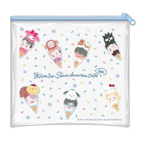 Aneka merchandise Yuri on Ice dan Sanrio