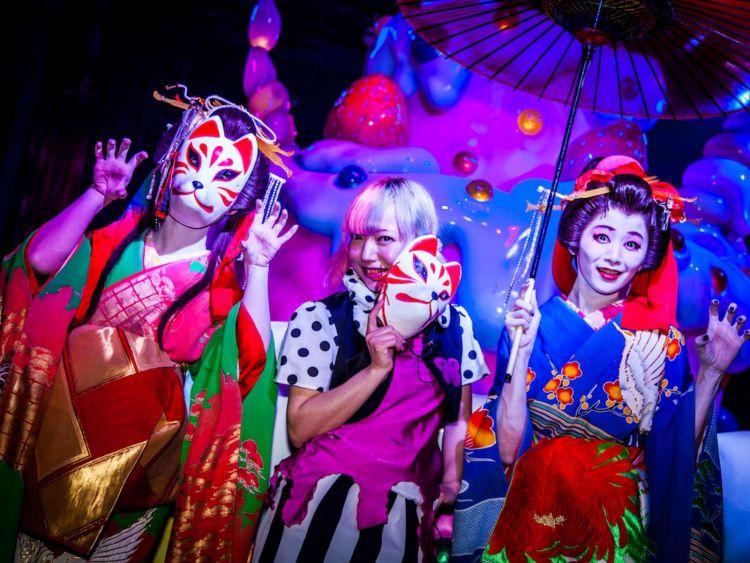 Kehidupan malam Tokyo japanesestation.com