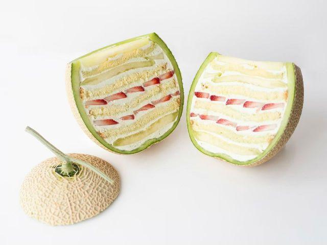 Marugoto Melon Cake