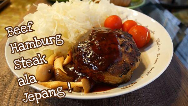 Resep hambagu hamburg steak Jepang japanesestation.com