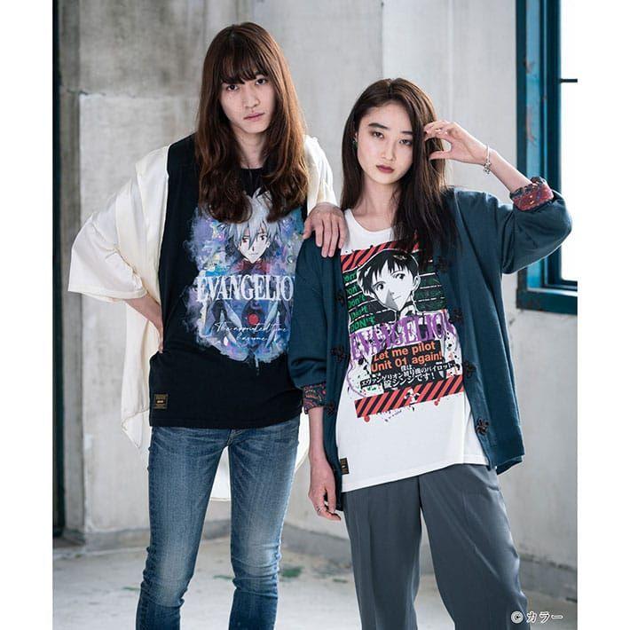 Shinji dan Kaworu T-Shirt