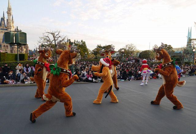 Tokyo Disneyland event natal japanesestation.com