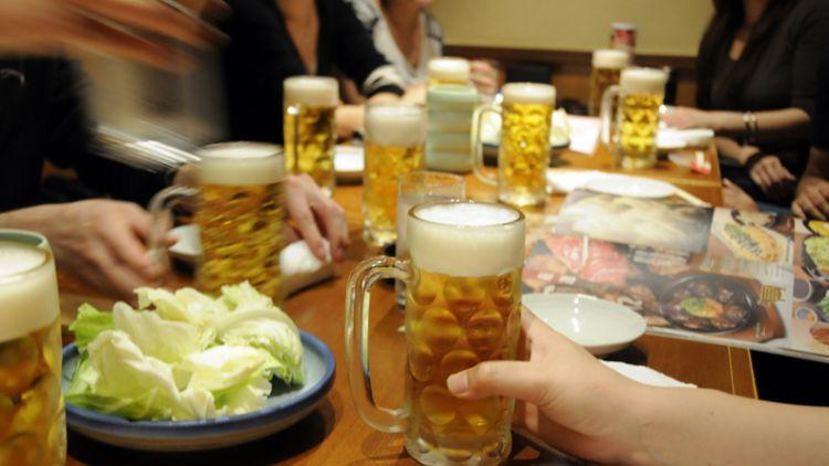 pesta minum Jepang nomikai japanesestation.com