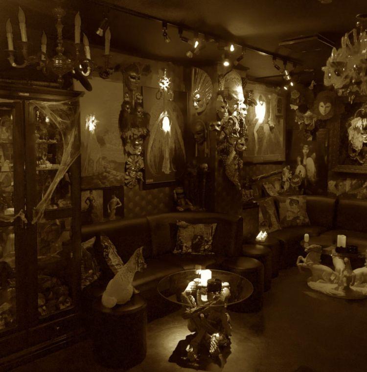 Dark Gothic Bar Camille
