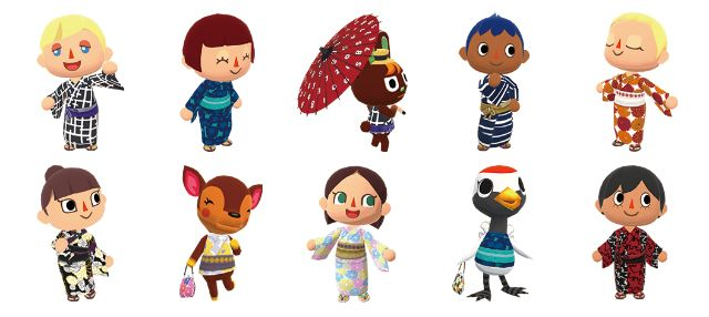 Animal Crossing: Pocket Camp Kimono japanesestation.com