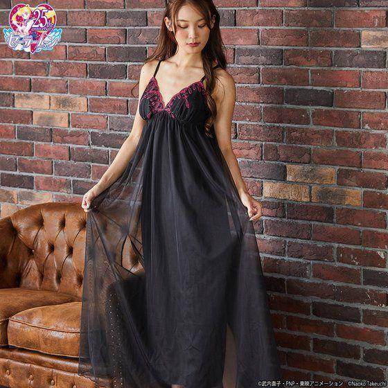 Camasole Dress Black Lady