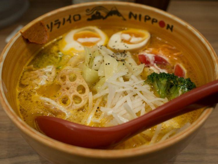 restoran ramen vegetarian Tokyo japanesestation.com