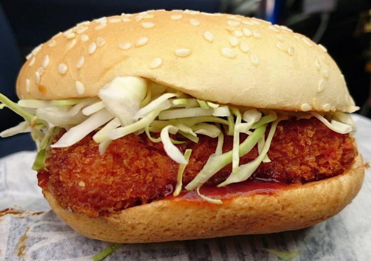Cheese Katsu Burger