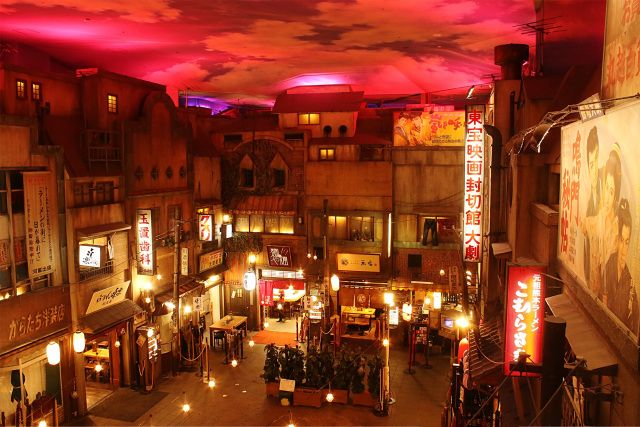 Interior Museum Ramen Shin Yokohama