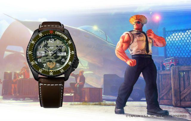 Street Fighter V jam tangan japanesestation.com