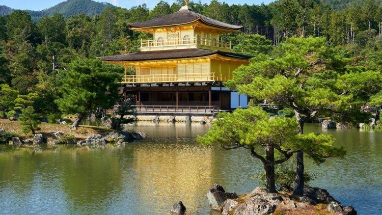 Kuil Kinkakuji, Kyoto