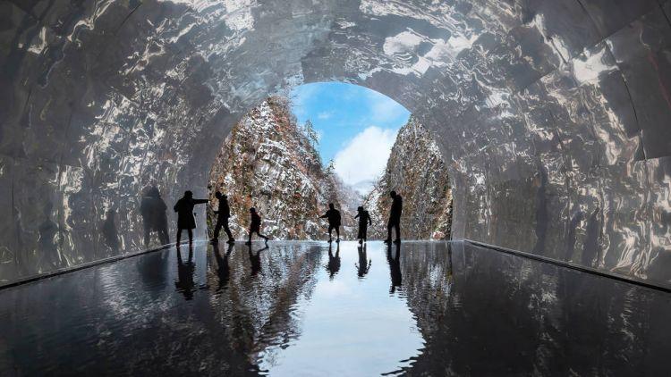 Ngarai Kiyotsu dan Terowongan Cahaya, Prefektur Niigata