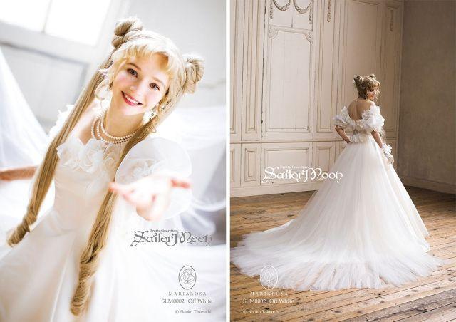 Gaun pengantin Sailor Moon
