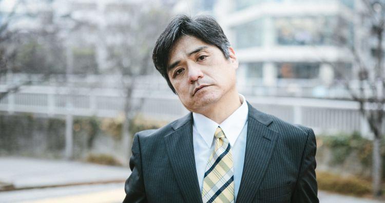 pria paruh baya Jepang makanan japanesestation.com