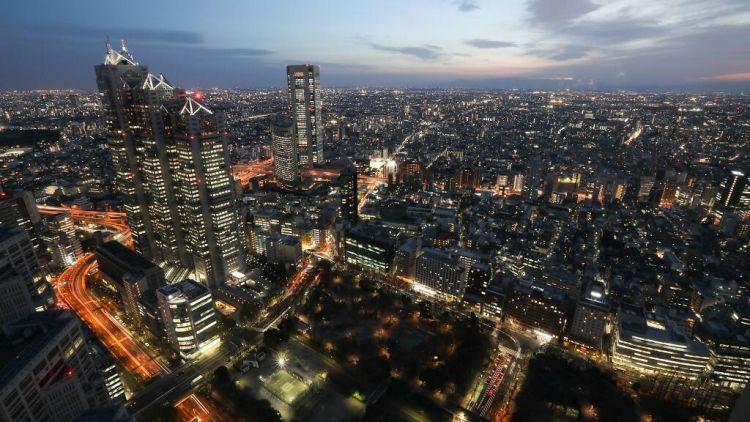 pemandangan langit Tokyo japanesestation.com