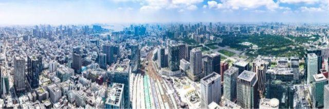 gedung pencakar langit tertinggi Jepang japanesestation.com