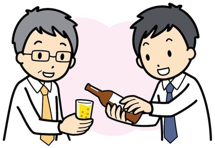 Menuangkan Minum