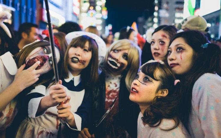 Halloween di Jepang