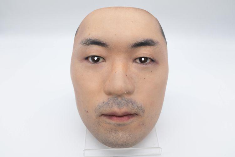 topeng wajah realistis kamenya omote