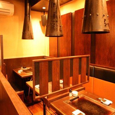 tampak dalam restoran houzenji sanpei