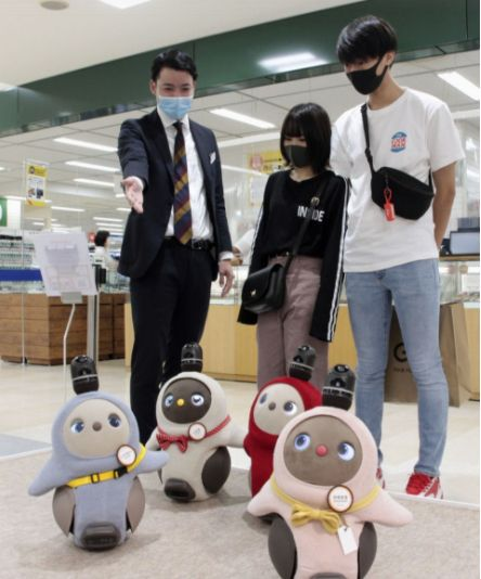 robot Jepang covid-19 japanesestation.com
