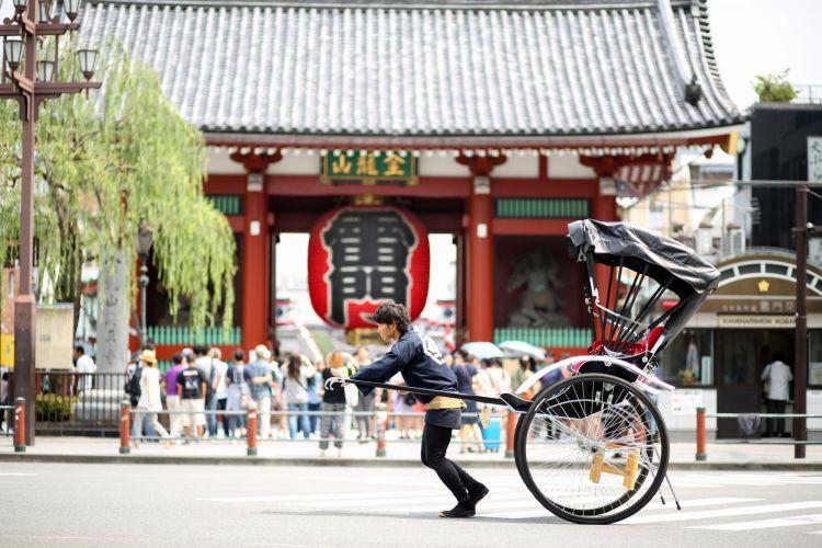 becak tradisional Jepang japanesestation.com