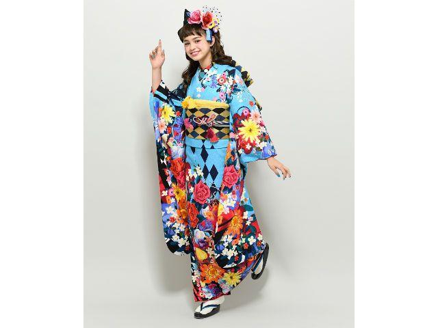 kimono alice in wonderland