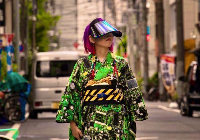 Cyberpunk Kimono