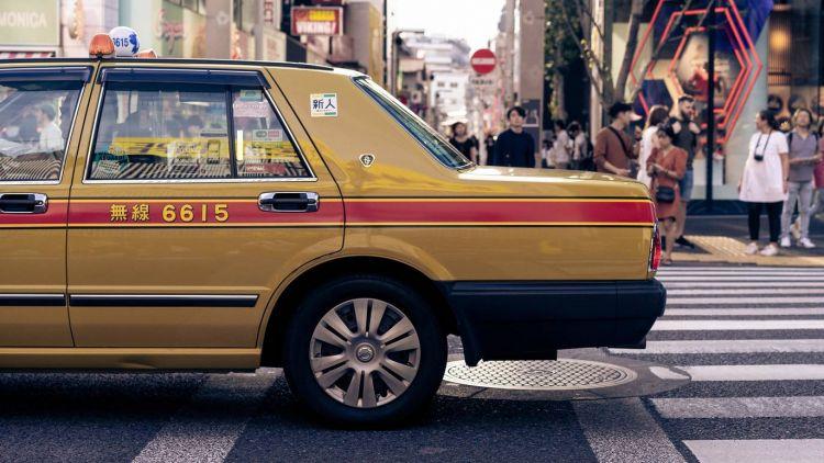 Taksi di Tokyo