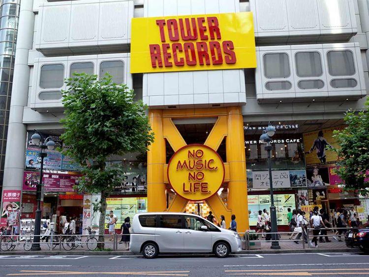tower records jepang