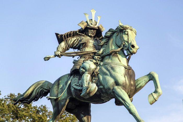Patung Samurai