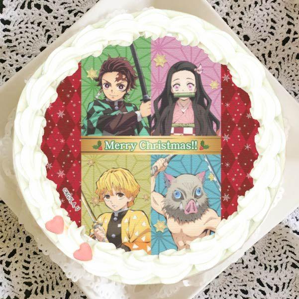 kue natal kimetsu no yaiba desain 2