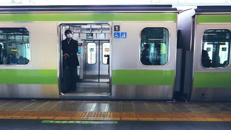 Kereta di Jepang