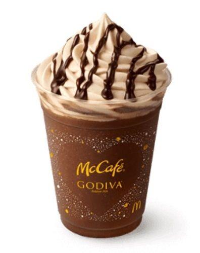 godiva chocolate espresso frappe