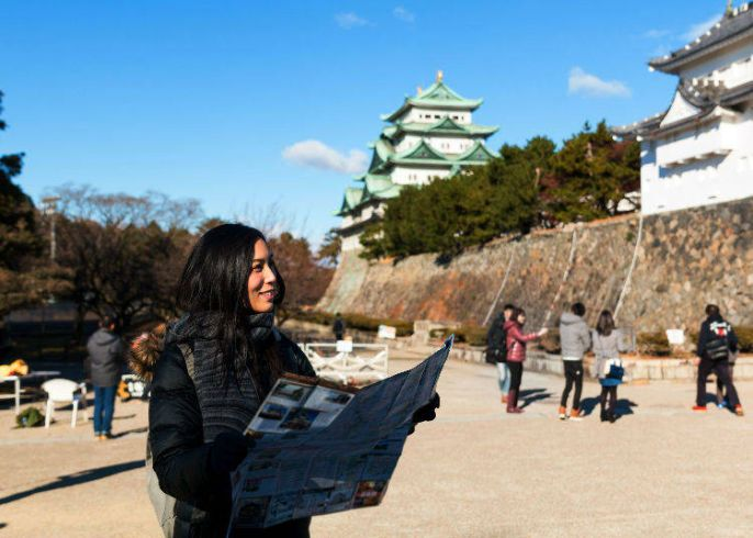 Wisatawan di Jepang