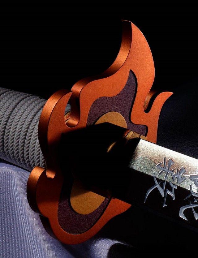 pedang nichirin replika rengoku japanesestation.com