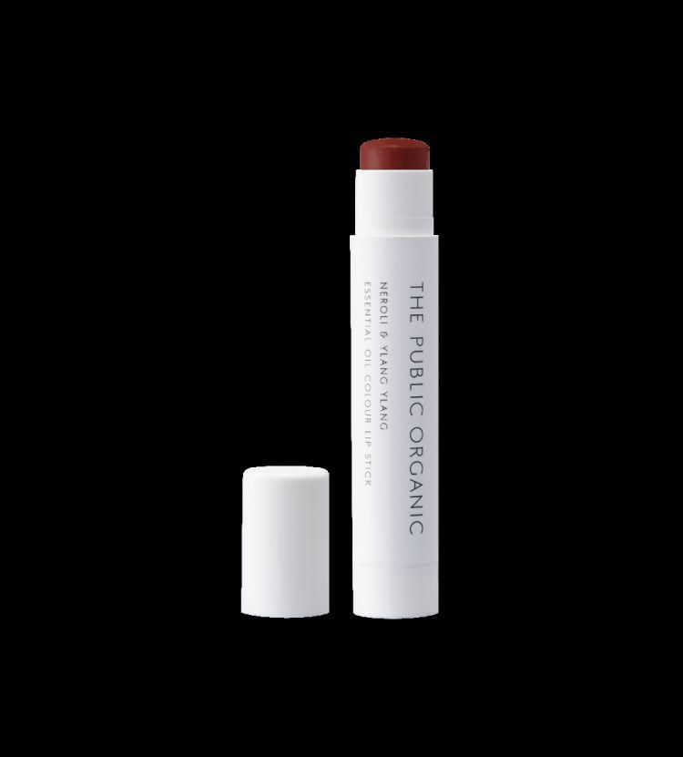 THE PUBLIC ORGANIC Essential Oil Colour Lip Stick