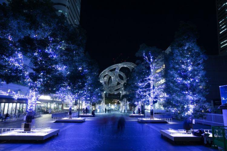 Yokohama Malam Hari