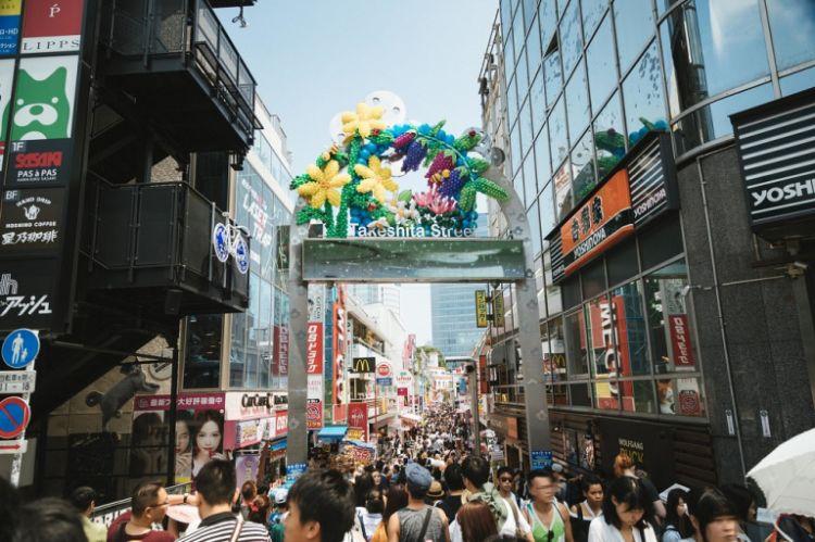 Takeshita shopping street