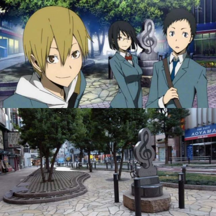 lokasi anime durarara!!