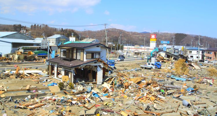 Gempa besar di Jepang