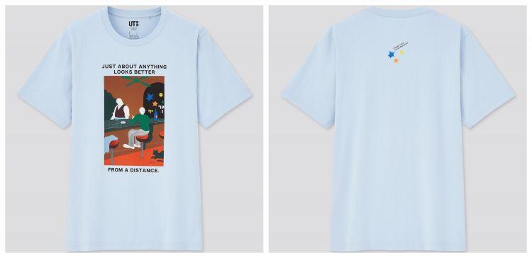 Uniqlo x Murakami Haruki T-shirt