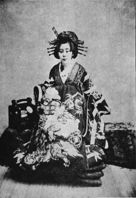 Oiran dari era Meiji