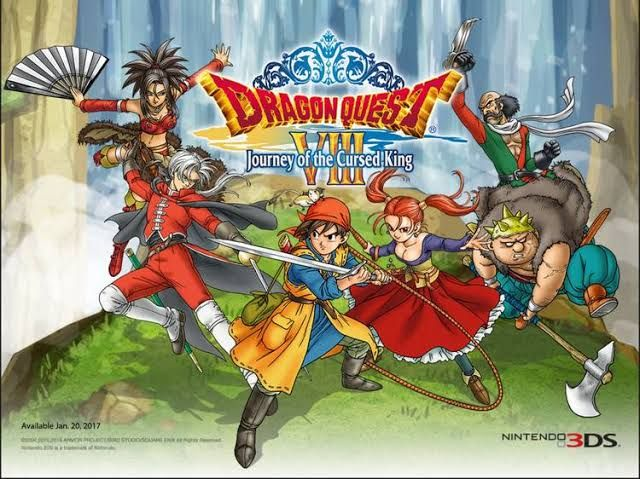 Dragon quest VIII picture