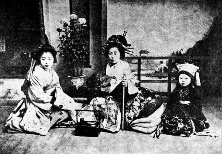 Oiran dan Kamuro