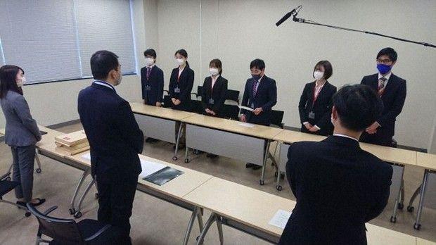 Kelompok mahasiswa Tokyo University of Foreign Students